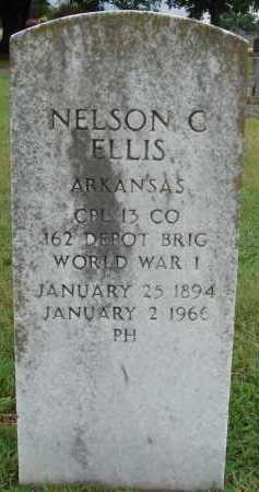 ELLIS  (VETERAN WWI), NELSON C. - Johnson County, Arkansas | NELSON C. ELLIS  (VETERAN WWI) - Arkansas Gravestone Photos