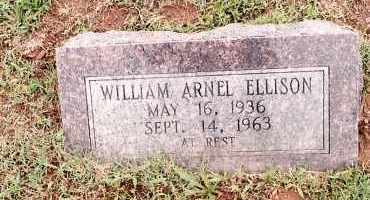 ELLISON, WILLIAM ARNEL - Johnson County, Arkansas | WILLIAM ARNEL ELLISON - Arkansas Gravestone Photos