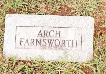 FARNSWORTH, ARCH - Johnson County, Arkansas | ARCH FARNSWORTH - Arkansas Gravestone Photos