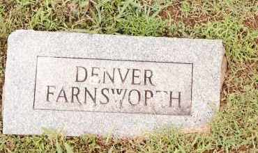 FARNSWORTH, DENVER - Johnson County, Arkansas | DENVER FARNSWORTH - Arkansas Gravestone Photos