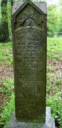 FLEMING, JOHN H. - Johnson County, Arkansas   JOHN H. FLEMING - Arkansas Gravestone Photos