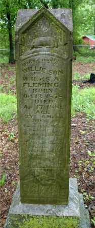 FLEMING, WILLIE H. - Johnson County, Arkansas   WILLIE H. FLEMING - Arkansas Gravestone Photos