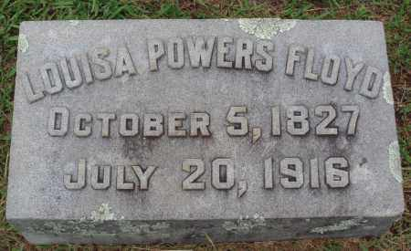 POWERS FLOYD, LOUISA - Johnson County, Arkansas | LOUISA POWERS FLOYD - Arkansas Gravestone Photos