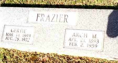 FRAZIER, ARCH M - Johnson County, Arkansas | ARCH M FRAZIER - Arkansas Gravestone Photos