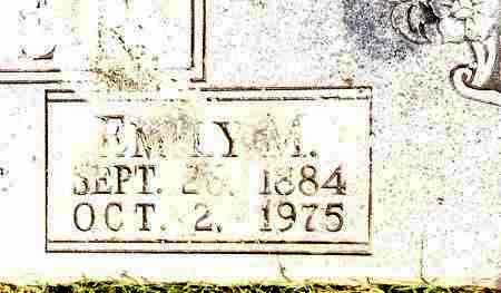 FRAZIER, EMILY M - Johnson County, Arkansas | EMILY M FRAZIER - Arkansas Gravestone Photos
