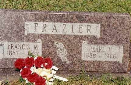 FRAZIER, FRANCIS M - Johnson County, Arkansas | FRANCIS M FRAZIER - Arkansas Gravestone Photos