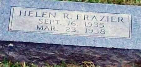 FRAZIER, HELEN R - Johnson County, Arkansas | HELEN R FRAZIER - Arkansas Gravestone Photos