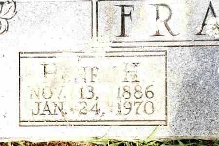 FRAZIER, HENRY H - Johnson County, Arkansas | HENRY H FRAZIER - Arkansas Gravestone Photos