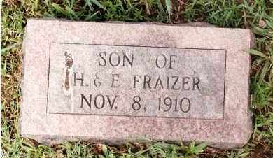 FRAZIER, INFANT SON - Johnson County, Arkansas | INFANT SON FRAZIER - Arkansas Gravestone Photos
