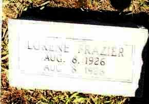 FRAZIER, LORENE - Johnson County, Arkansas | LORENE FRAZIER - Arkansas Gravestone Photos
