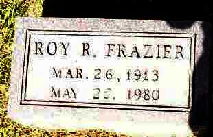 FRAZIER, ROY R - Johnson County, Arkansas | ROY R FRAZIER - Arkansas Gravestone Photos