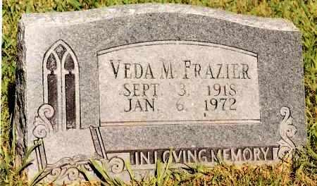 FRAZIER, VEDA M - Johnson County, Arkansas | VEDA M FRAZIER - Arkansas Gravestone Photos