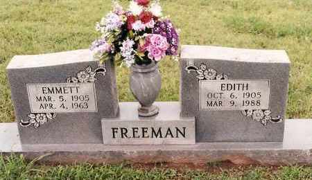 FREEMAN, EDITH - Johnson County, Arkansas | EDITH FREEMAN - Arkansas Gravestone Photos