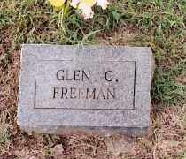 FREEMAN, GLEN C - Johnson County, Arkansas | GLEN C FREEMAN - Arkansas Gravestone Photos