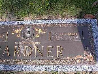 BEALE GARDNER, CLARE - Johnson County, Arkansas | CLARE BEALE GARDNER - Arkansas Gravestone Photos