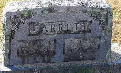 GARRETT, AUSLEY B - Johnson County, Arkansas | AUSLEY B GARRETT - Arkansas Gravestone Photos