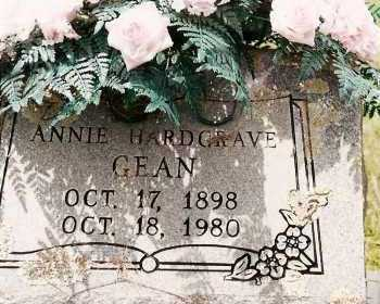 GEAN, ANNIE - Johnson County, Arkansas | ANNIE GEAN - Arkansas Gravestone Photos