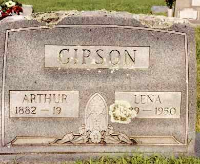 GIPSON, ARTHUR - Johnson County, Arkansas | ARTHUR GIPSON - Arkansas Gravestone Photos