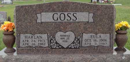 GOSS, HARLAN - Johnson County, Arkansas | HARLAN GOSS - Arkansas Gravestone Photos