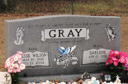GRAY, JESSE WILSON - Johnson County, Arkansas | JESSE WILSON GRAY - Arkansas Gravestone Photos