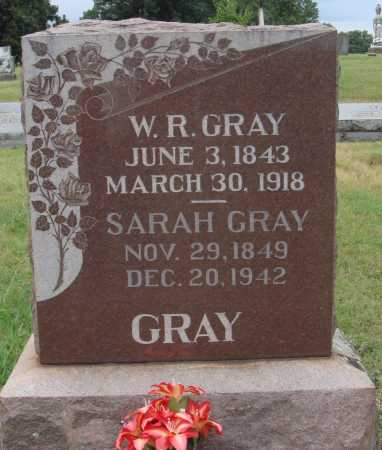 GRAY, W. R. - Johnson County, Arkansas | W. R. GRAY - Arkansas Gravestone Photos