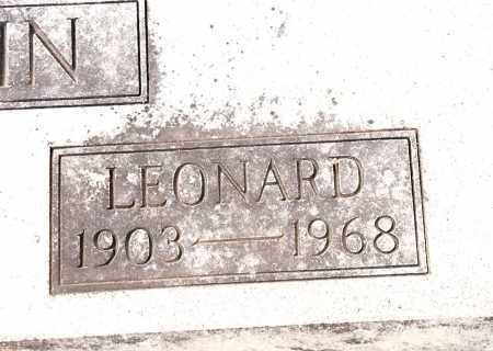 GRIFFIN, LEONARD - Johnson County, Arkansas | LEONARD GRIFFIN - Arkansas Gravestone Photos
