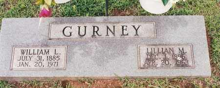 GURNEY, WILLIAM L - Johnson County, Arkansas | WILLIAM L GURNEY - Arkansas Gravestone Photos