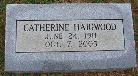 HAIGWOOD, CATHERINE - Johnson County, Arkansas | CATHERINE HAIGWOOD - Arkansas Gravestone Photos