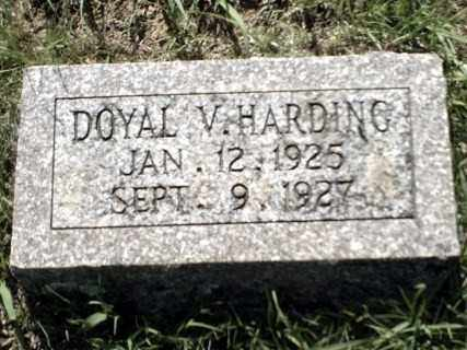 HARDING, DOYAL V. - Johnson County, Arkansas | DOYAL V. HARDING - Arkansas Gravestone Photos