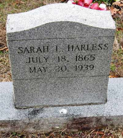 HARLESS, SARAH L - Johnson County, Arkansas | SARAH L HARLESS - Arkansas Gravestone Photos