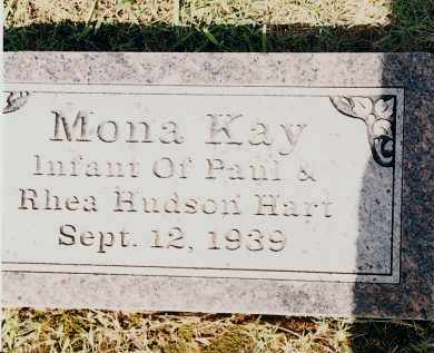 HART, MONA KAY - Johnson County, Arkansas | MONA KAY HART - Arkansas Gravestone Photos