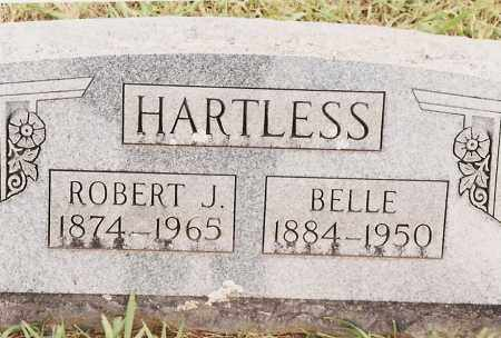 HARTLESS, ROBERT J - Johnson County, Arkansas | ROBERT J HARTLESS - Arkansas Gravestone Photos