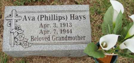 HAYS, AVA - Johnson County, Arkansas | AVA HAYS - Arkansas Gravestone Photos