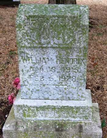HENDRIX, WILLIAM - Johnson County, Arkansas | WILLIAM HENDRIX - Arkansas Gravestone Photos