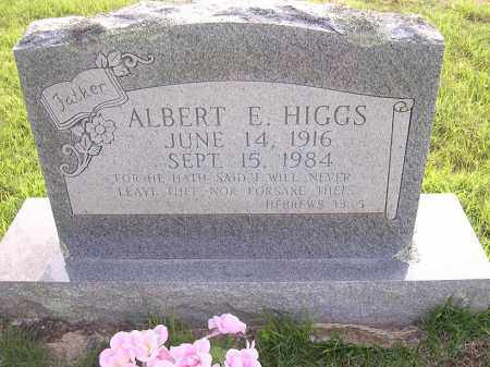HIGGS, ALBERT E - Johnson County, Arkansas | ALBERT E HIGGS - Arkansas Gravestone Photos