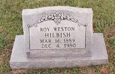 HILBISH, ROY WESTON - Johnson County, Arkansas | ROY WESTON HILBISH - Arkansas Gravestone Photos