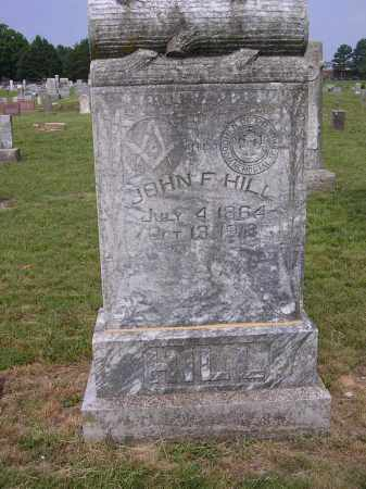 HILL, JOHN F - Johnson County, Arkansas | JOHN F HILL - Arkansas Gravestone Photos