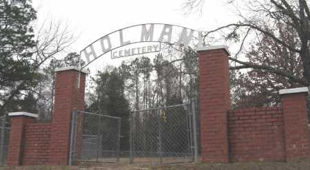 *HOLMAN CEMETERY GATE,  - Johnson County, Arkansas |  *HOLMAN CEMETERY GATE - Arkansas Gravestone Photos