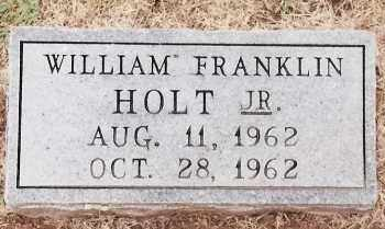 HOLT, JR, WILLIAM FRANKLIN - Johnson County, Arkansas | WILLIAM FRANKLIN HOLT, JR - Arkansas Gravestone Photos