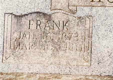 HOUSTON, FRANK - Johnson County, Arkansas | FRANK HOUSTON - Arkansas Gravestone Photos
