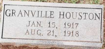 HOUSTON, GRANVILLE - Johnson County, Arkansas | GRANVILLE HOUSTON - Arkansas Gravestone Photos