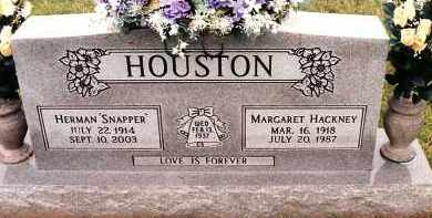 HOUSTON, MARGARET - Johnson County, Arkansas | MARGARET HOUSTON - Arkansas Gravestone Photos