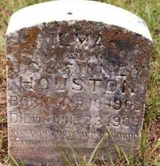 HOUSTON, ILMA - Johnson County, Arkansas | ILMA HOUSTON - Arkansas Gravestone Photos