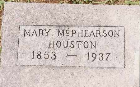 HOUSTON, MARY - Johnson County, Arkansas | MARY HOUSTON - Arkansas Gravestone Photos
