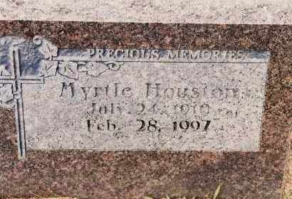 HOUSTON, MYRTLE - Johnson County, Arkansas | MYRTLE HOUSTON - Arkansas Gravestone Photos