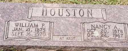 HOUSTON, WILLIAM P. - Johnson County, Arkansas | WILLIAM P. HOUSTON - Arkansas Gravestone Photos