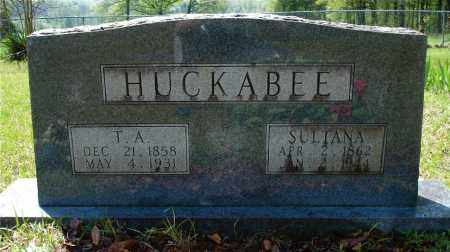 HUCKABEE, THOMAS ASBURY - Johnson County, Arkansas | THOMAS ASBURY HUCKABEE - Arkansas Gravestone Photos