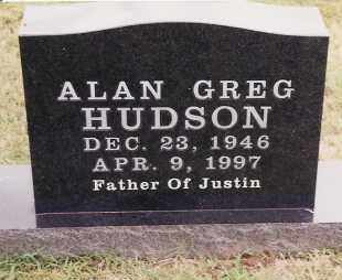 HUDSON, ALAN GREG - Johnson County, Arkansas | ALAN GREG HUDSON - Arkansas Gravestone Photos
