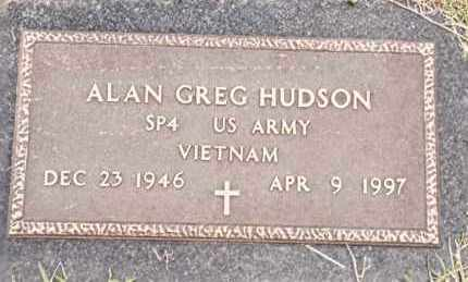 HUDSON  (VETERAN VIET), ALAN GREG - Johnson County, Arkansas | ALAN GREG HUDSON  (VETERAN VIET) - Arkansas Gravestone Photos