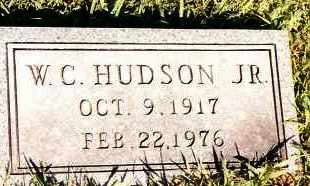 HUDSON, JR, W C - Johnson County, Arkansas | W C HUDSON, JR - Arkansas Gravestone Photos